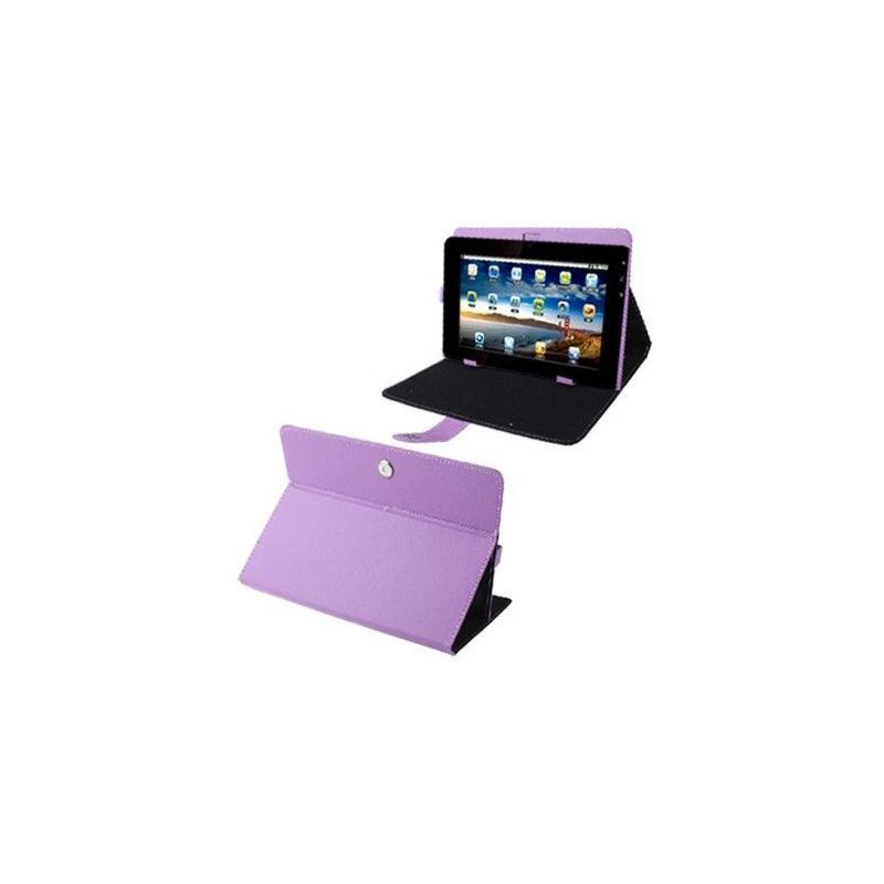 housse universelle tablette tactile 10 1 pouces support tui violet. Black Bedroom Furniture Sets. Home Design Ideas