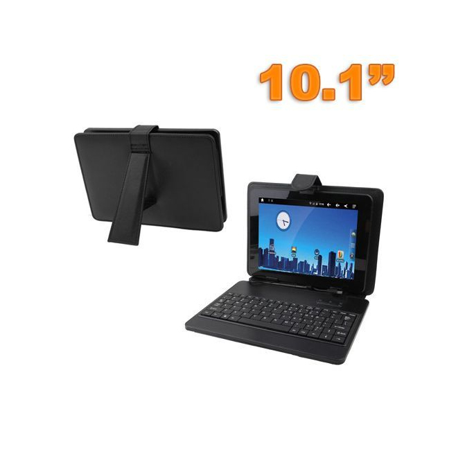 Housse clavier universelle tablette tactile 10 pouces support Noir - www.yonis-shop.com