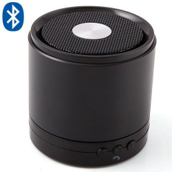 Enceinte Bluetooth smartphone tablette kit mains libres Noir