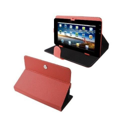 Housse universelle tablette tactile 9 pouces support étui Rouge