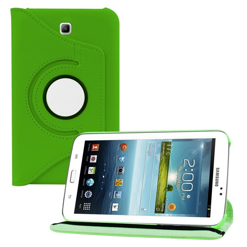 housse samsung galaxy tab 3 p3200 233 tui 7 pouces support 360 176 vert