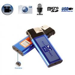 Briquet camera espion appareil photo enregistrement sonore USB - www.yonis-shop.com