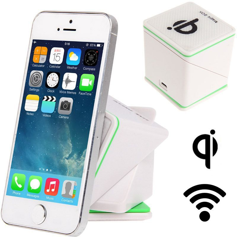 chargeur qi sans fil support voiture smartphone holder auto blanc. Black Bedroom Furniture Sets. Home Design Ideas