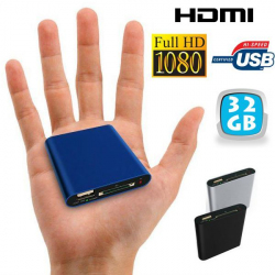 Mini passerelle multimédia Full HD 1080p HDMI USB SD disque dur 32 Go - www.yonis-shop.com