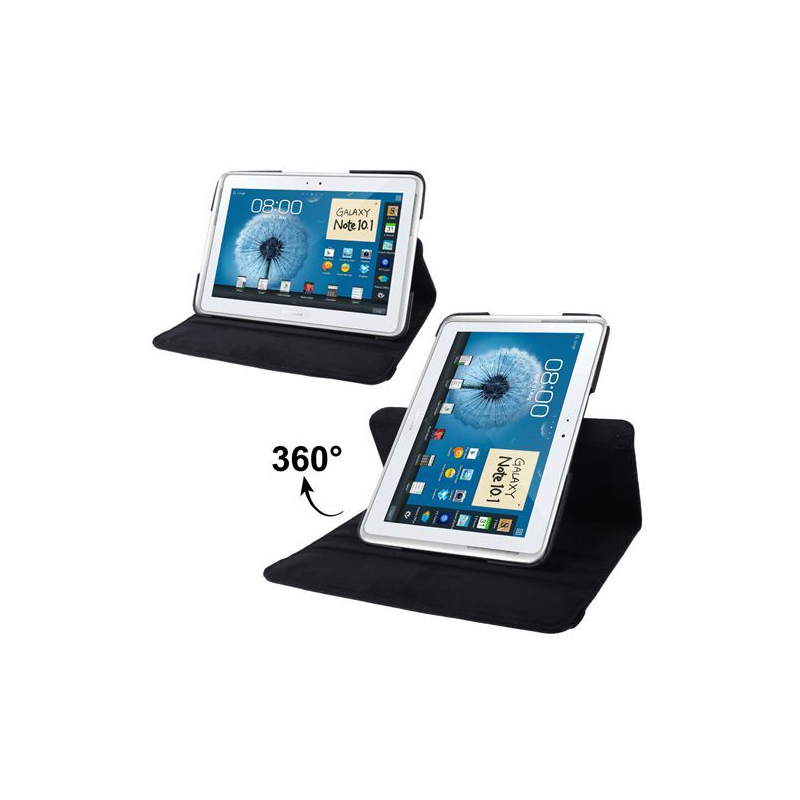 housse samsung galaxy note n8000 233 tui 10 1 pouces support 360 176 noir