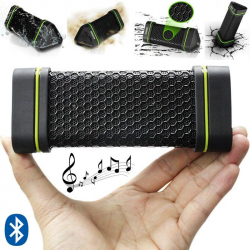 Mini enceinte Bluetooth portable sportive waterproof antichoc noir - www.yonis-shop.com