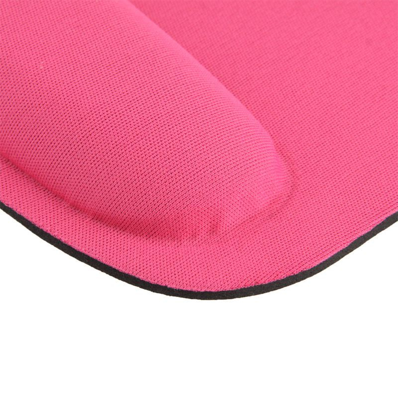 tapis de souris ergonomique repose poignet ultra fin rose. Black Bedroom Furniture Sets. Home Design Ideas