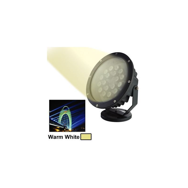 Projecteur led blanc chaud ext rieur clairage jardin for Eclairage led jardin