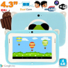 Tablette tactile enfant YoKid Mini 4.3 pouces Android 4.2 bleu 4Go - www.yonis-shop.com