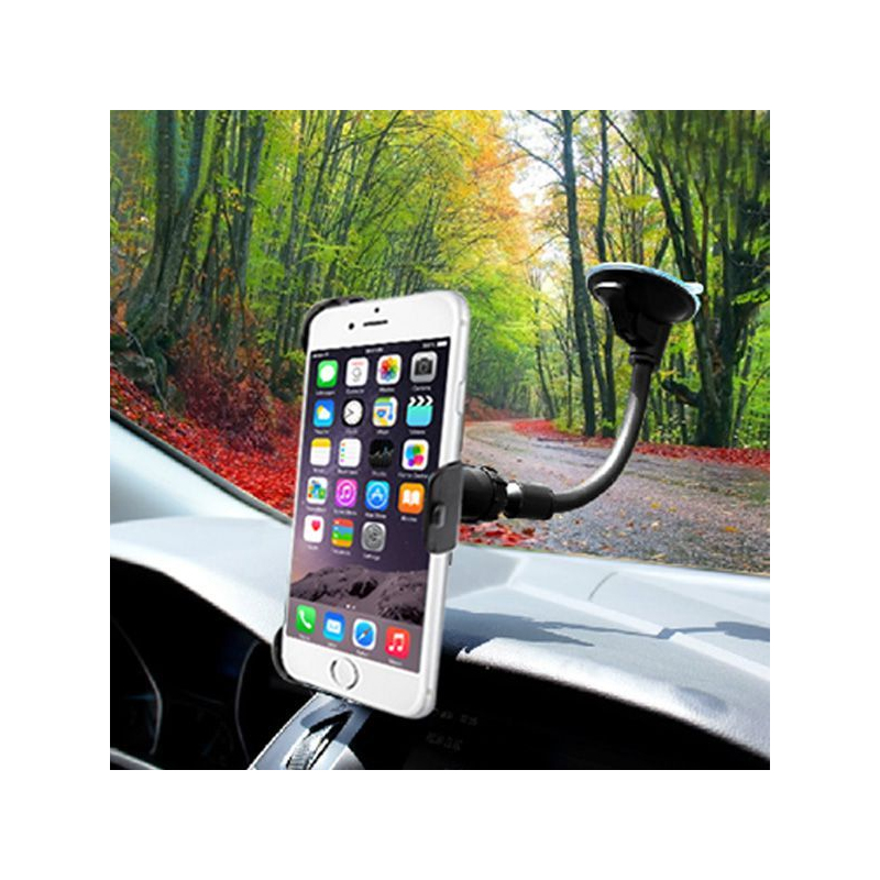 holder iphone 6 ventouse pare brise accessoire automobile voiture. Black Bedroom Furniture Sets. Home Design Ideas