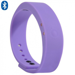 Bracelet connecté intelligent Bluetooth appel mode sport Violet