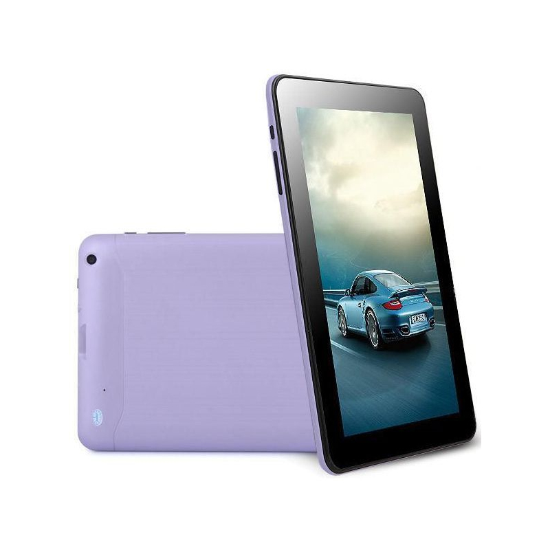 tablette tactile 10 pouces android 4 4 kitkat quad core 8 go violet. Black Bedroom Furniture Sets. Home Design Ideas
