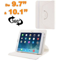 Housse universelle tablette 9.7 - 10.1 pouces support 360° Blanc - www.yonis-shop.com
