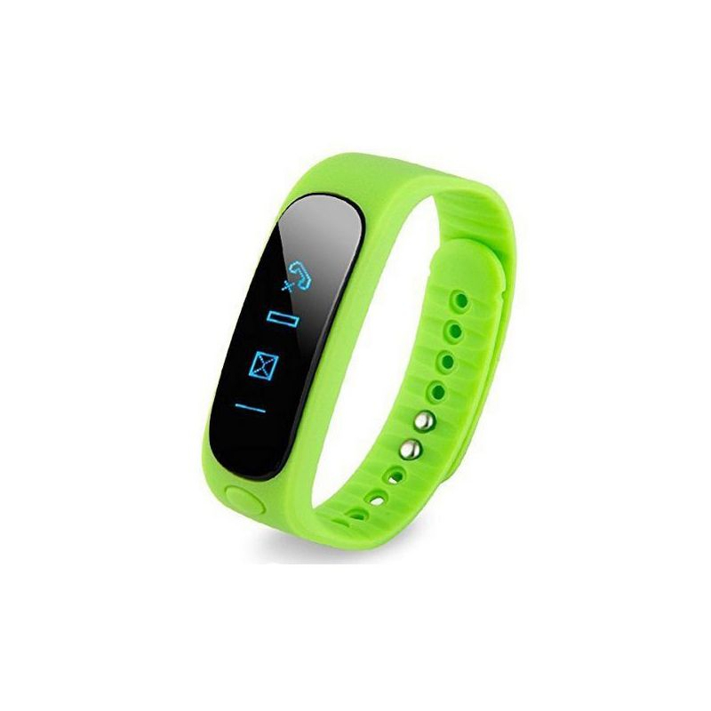 bracelet bluetooth sport connect montre podom tre vert. Black Bedroom Furniture Sets. Home Design Ideas