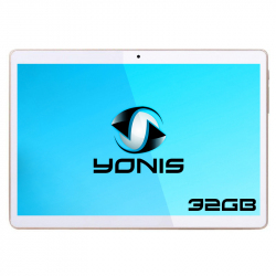 9.7 inch IPS Screen Android 4.4 3G Phone Tablet PC, MT6582M Quad Core 1.3GHz, RAM: 1G ROM: 8G, WCDMA / WiFi / GPS(White)