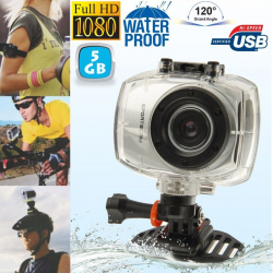 Camera embarquée étanche caisson waterproof Grand angle Full HD 5 Go - www.yonis-shop.com