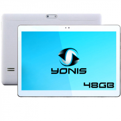 Tablette 10 pouces 3G Android 5.1 Lollipop Dual SIM Quad Core 16Go Blanc - www.yonis-shop.com