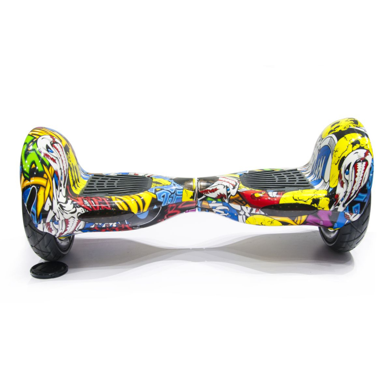 hoverboard 10 pouces skate lectrique gyropode 36v comics. Black Bedroom Furniture Sets. Home Design Ideas