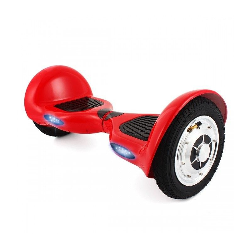 hoverboard 10 pouces skate lectrique gyropode 36v fire. Black Bedroom Furniture Sets. Home Design Ideas