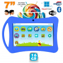 Tablette enfant 7 pouces Android 5.1 Bluetooth Quad Core 16Go Bleu - www.yonis-shop.com