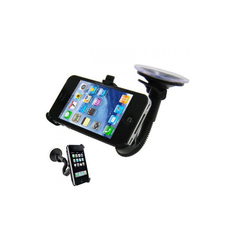 support ventouse flexible pour iphone 4 4s voiture holder auto. Black Bedroom Furniture Sets. Home Design Ideas