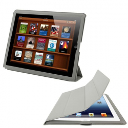 Smart cover integrale new iPad 3 gris
