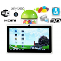 Tablette tactile Android 4.1 Jelly Bean 7 pouces HDMI 8 Go Blanc - www.yonis-shop.com